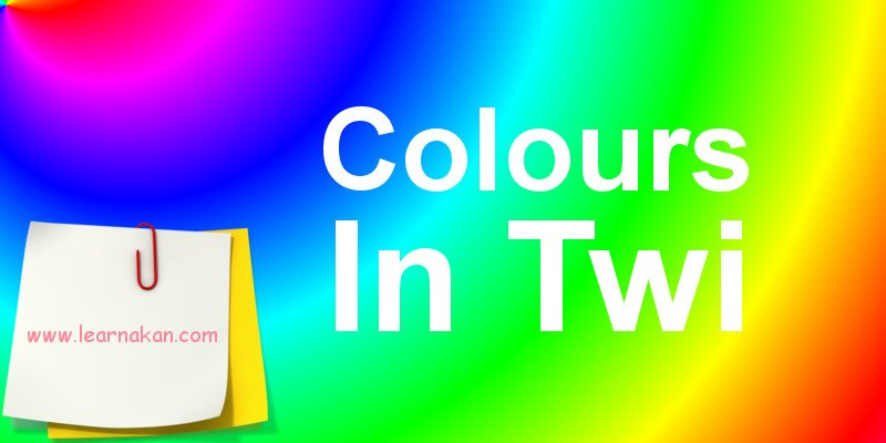 colours in twi akan