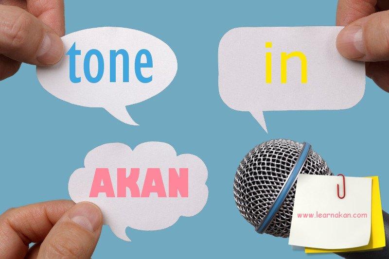 tone in akan, tone in twi