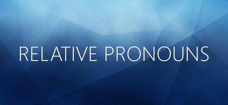 relative pronouns in twi