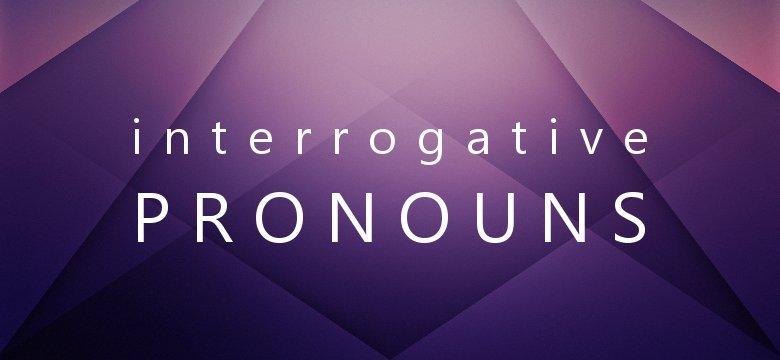 interrogative pronouns in twi